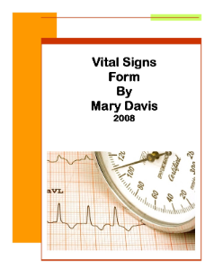 Vital Signs Form