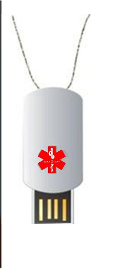 Mini Dog Tag EMR- 1 Gig